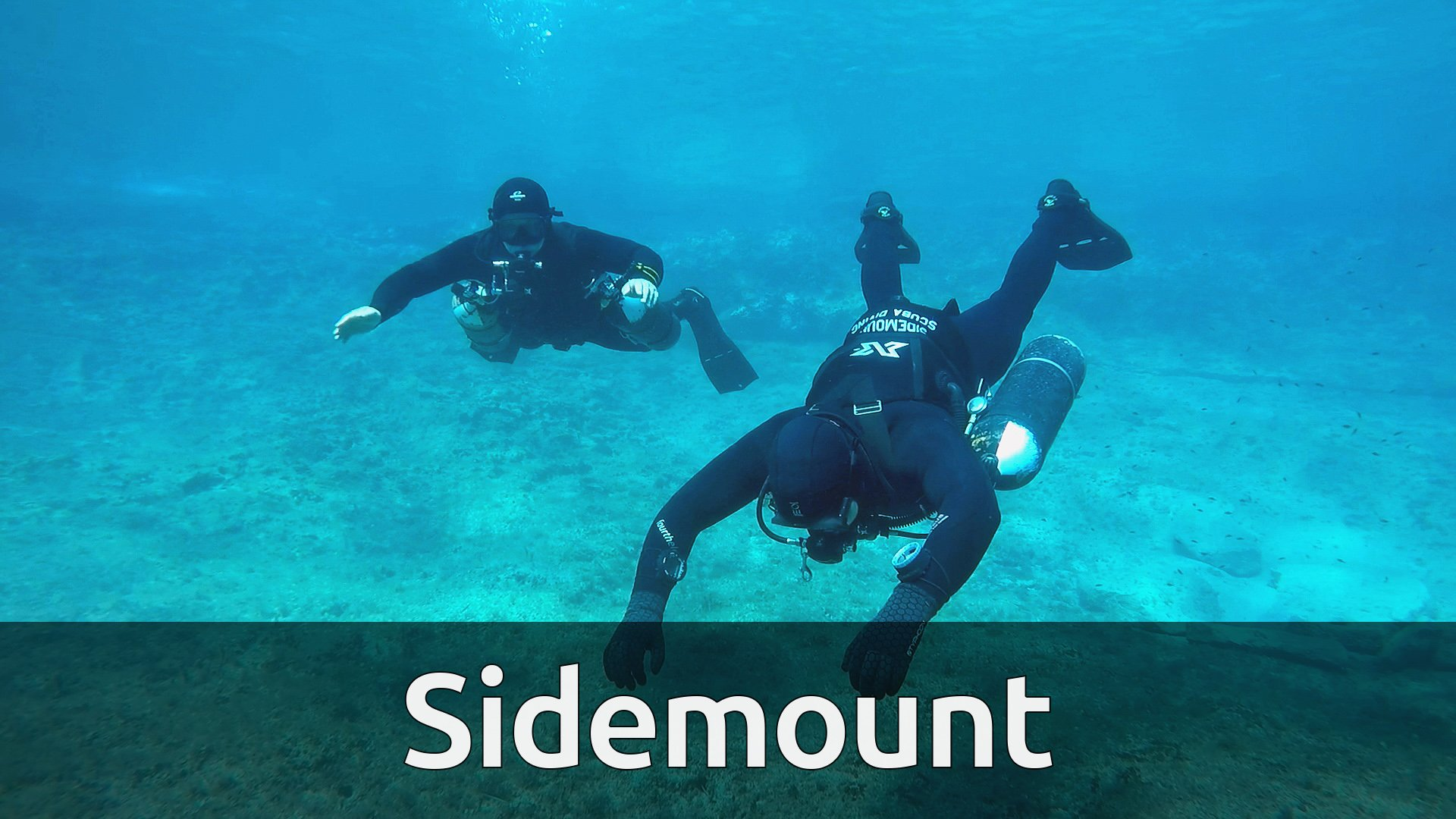 Sidemount Course | 11 h 12 min split over 72 videos