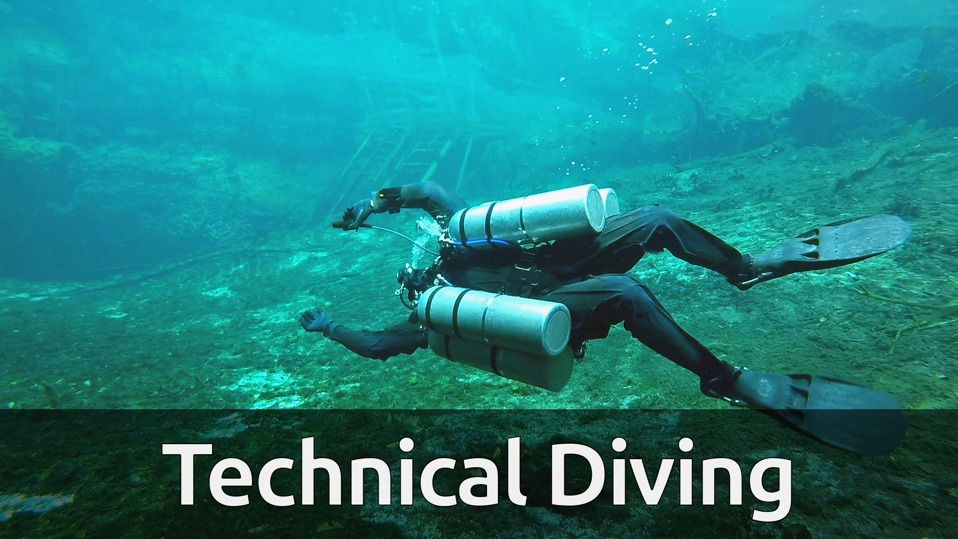 Technical Diving Course | 3 h 46 min split over 30 videos