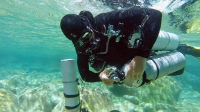 "Article - Sidemount divers going ""back"" to backmount 2"