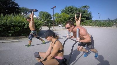 Steve Martin Crossfit Training in Mexico