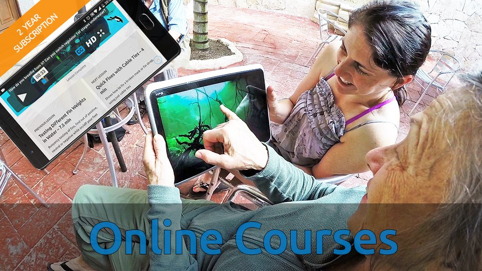 sidemounting com – Online video training courses for Scuba